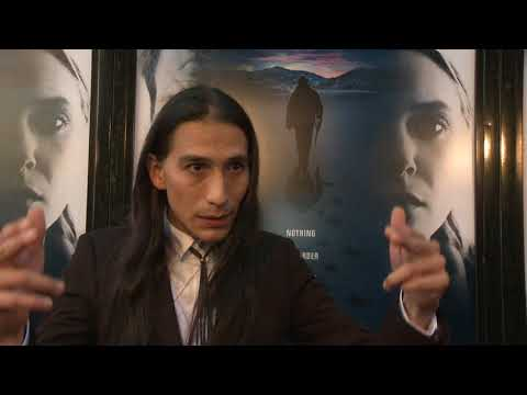 Wind River : Los Angeles Premiere red carpet Itw Sam Tokala Clifford (official video)