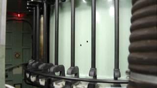 Inside a OTO Melara 76mm Navy Gun