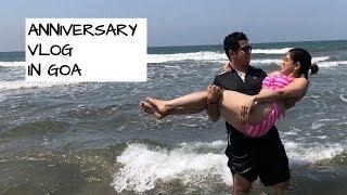 Marriage Anniversary trip to GOA vlog   Meet the HUSBAND   SimpleTips Anwesha
