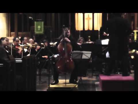 Jameson Platte Plays Elgar Cello Concerto, Mov. 1