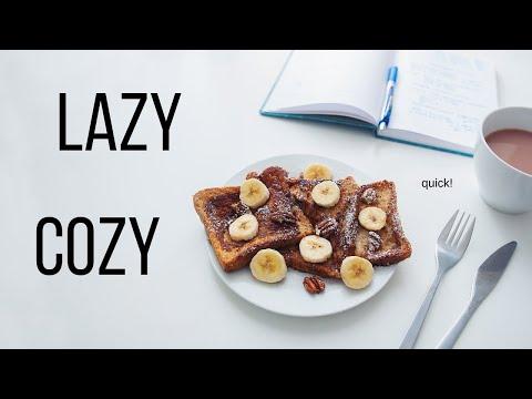 Lazy & Comfy Vegan Breakfast Ideas!