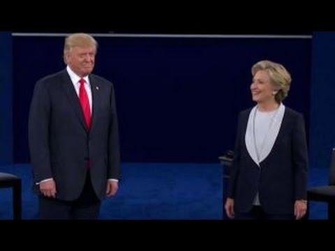 Part 1 of second presidential debate at Washington Univ.