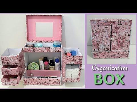 DIY Makeup Storage and Organization