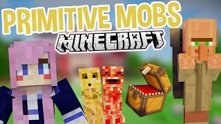 Crazy Creatures | Weird Minecraft Mod | Primitive Mobs
