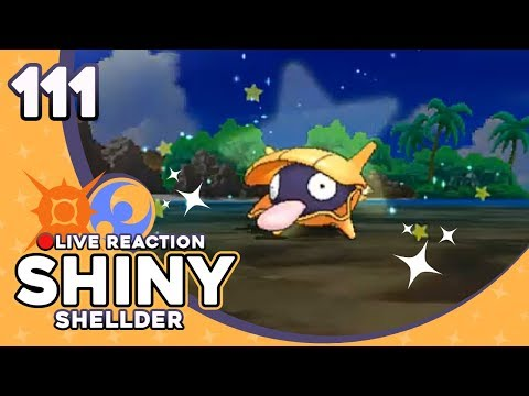 ANGRY YELLOW CLAM! SHINY SHELLDER! | Pokemon Sun and Moon Shiny Reaction #111 | CrimsonCBAD