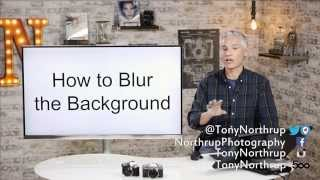 Blur the Background with Photoshop (and without expensive lenses!)