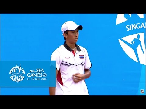 Tennis Men's Singles  Final (Day 9) | 28th SEA Games Singapore 2015