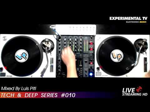 TECH & DEEP  SERIES #010 MIX BY LUIS PITTI VINYL SET