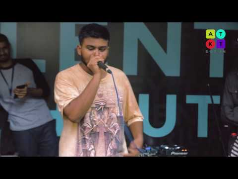 India's Star Beatboxer VIBE Performs Hip Hop