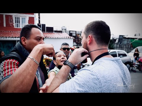 Confronted at Santa Muerte shrine in Mexico City's most dangerous neighborhood, Tepito