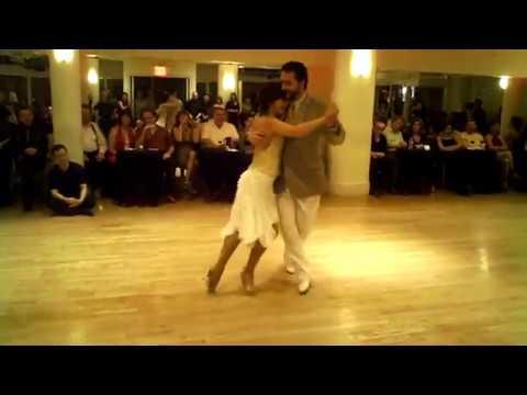 Мария Оливера и Густаво Бензекри Саба - Аргентинское Танго в студии «Dancesport». Нью-Йорк.