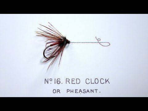 Tying The Red Clock Or Pheasant (Soft Hackle/Wet Fly) With Davie McPhail