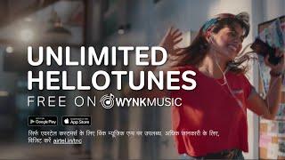 Free HelloTunes on Wynk Music!