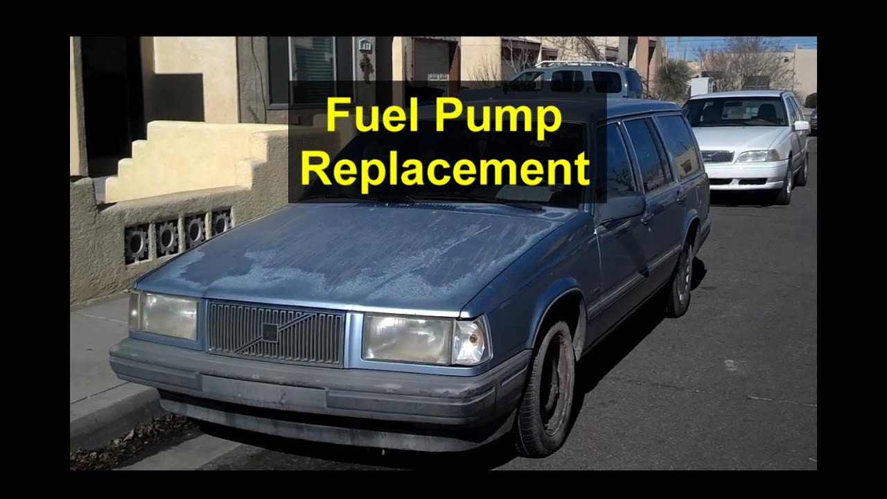 small resolution of fuel pump replacement volvo 740 940 240 etc votd