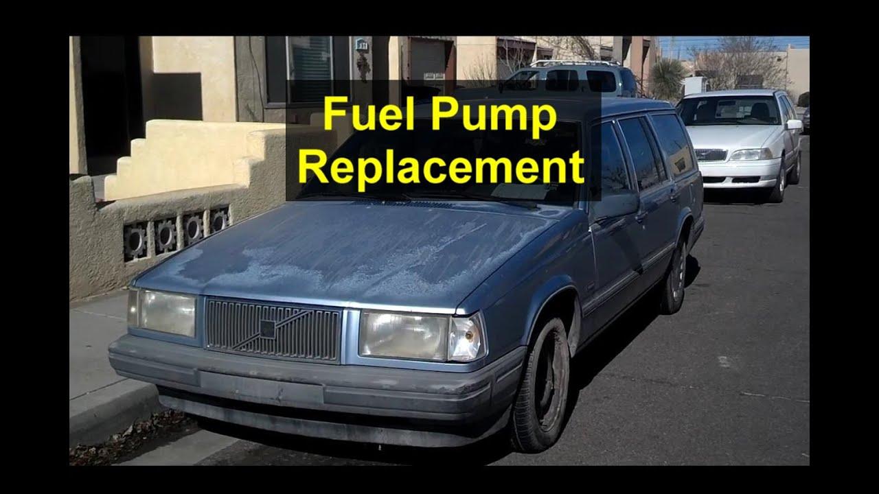hight resolution of fuel pump replacement volvo 740 940 240 etc votd