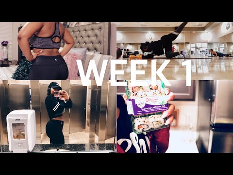 #FITFRIDAY Week 1: Starting Weight, Walmart Sushi, Back in the Gym