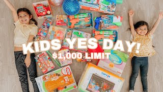PARENTS SAY YES TO EVERYTHING FOR 24 HOURS   YES DAY CHALLENGE