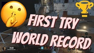 INSANE Knife Only WORLD RECORD! - Black Ops 4 Zombies Challenge