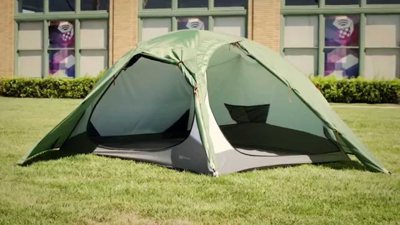 Mountain Hardwear Optic 2.5 VUE Tent & Mountain Hardwear Optic 2.5 VUE Tent - YouTube