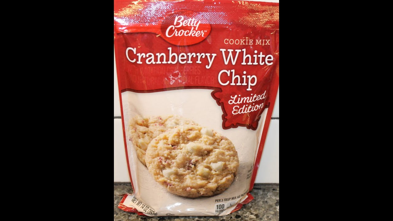 Making Chocolate Chip Cookies Out Of White Cake Mix