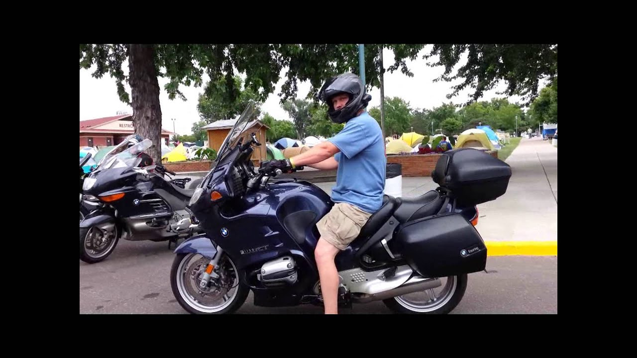 bmwmoa 2014 rally, shuttle loop looking at bmw motorcycles - youtube
