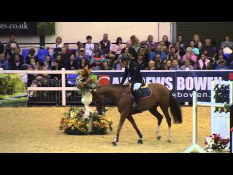 Showjumping - Jamie Wingrove 6 yr-old Winning Round SCOPE