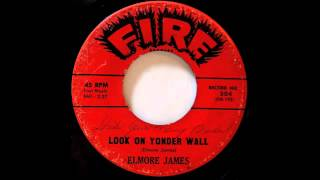 Elmore James. Look Over Yonder Wall.