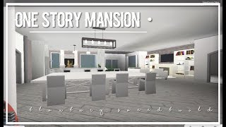 Roblox | Bloxburg | One Story Mansion