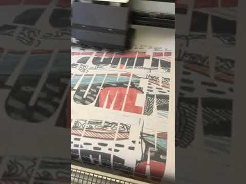 Custom Fabric Printing on cotton for Ailish Henderson Kyra Wilson