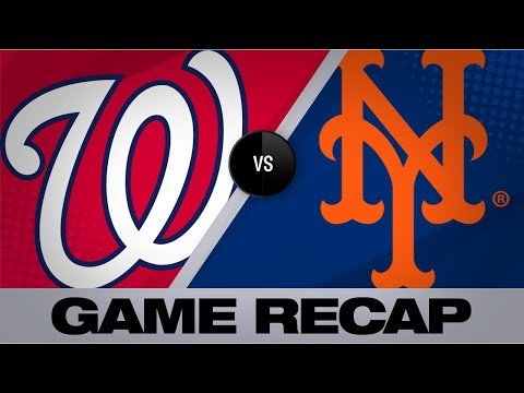 Conforto's walk-off caps Mets' comeback win | Nationals-Mets Game Highlights 8/9/19