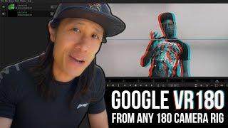 خلق أفضل Google VR180 مع أي 180° الكاميرا الحل w/ Mistika VR | إزالة الغموض VR180 الجزء 2