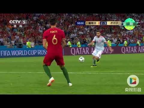 【足球联盟】2018世界杯 B组 葡萄牙vs西班牙——C罗上演帽子戏法,强队遇劲