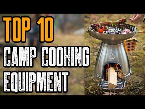 Top 10 Must Have Camp Cooking Equipment & Gear 2020