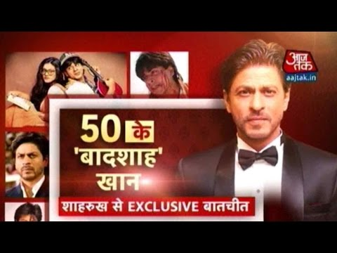 Exclusive: In Conversation With Shah Rukh Khan On His 50th B