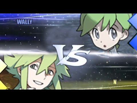 Wally and n pokemon