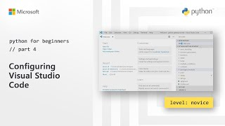 Configuring Visual Studio Code | Python for Beginners [4 of 44]