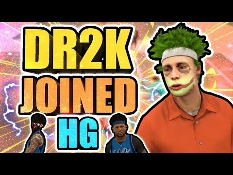DR 2K + HANKDATANK25 AT THE PARK • ULTIMATE SUPER CREW HG JOINED BY DR 2K • #1 CREW EVER IN NBA 2K17