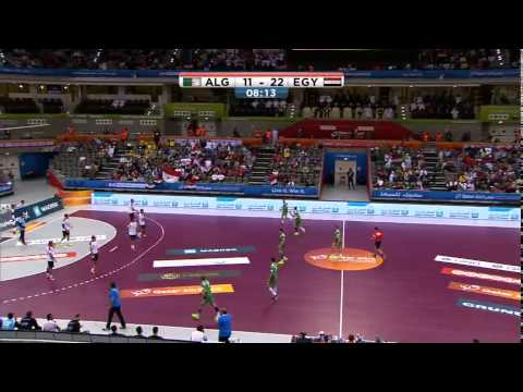 Egypt Vs Algeria - IHF World Cup 2015 Preliminary Round ( Group C )