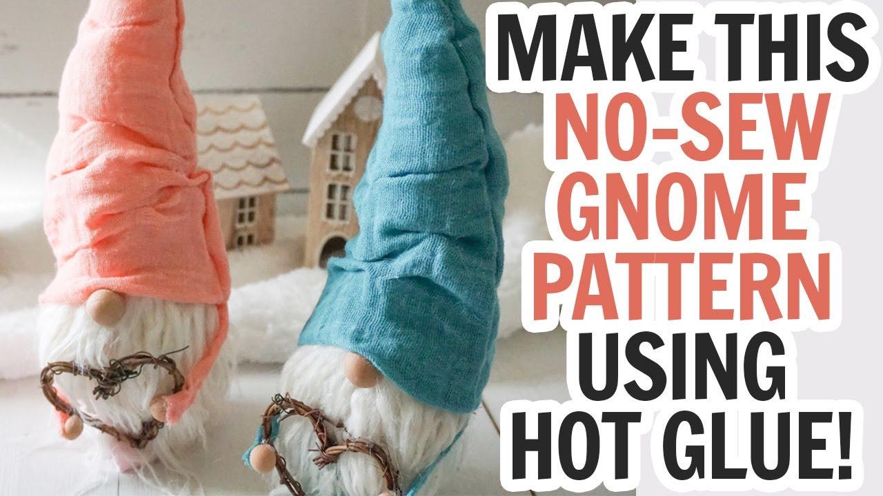 Tabletop Santa DIY Sewing Gnome Sewing Pattern Gnome Sewing Pattern Santa Gnome Garden Gnome PDF Pattern