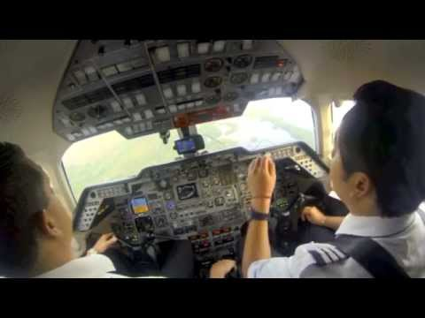 GoPro: Flying the Hawker 800 HD.