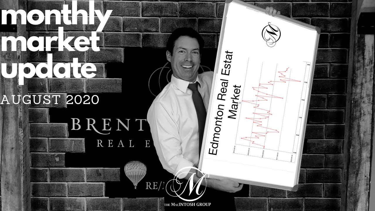 August 2020 Edmonton Real Estate Market Update