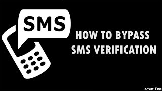 how to Bypass Sms/Call Verification of any Website or App