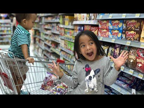 Zara dan Kenzo Belanja di Supermarket Jepang daerah Blok M Jakarta