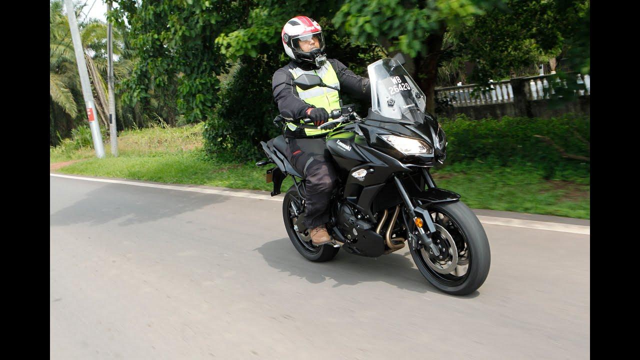 Lowering Kawasaki Versys