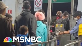 Immigrants Stalled At Border Await Court Date Amid COVID-19 Outbreak | Morning Joe | MSNBC