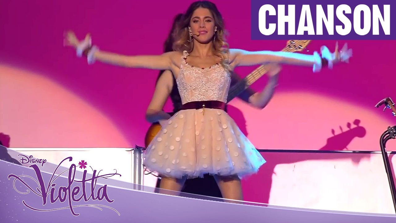 violetta live chanson alcancemos las estrellas youtube. Black Bedroom Furniture Sets. Home Design Ideas