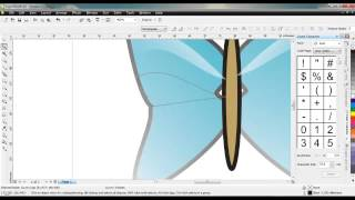 Tutorial Corel Draw, Membuat Kupu-Kupu XI IPS 1 SMANCA
