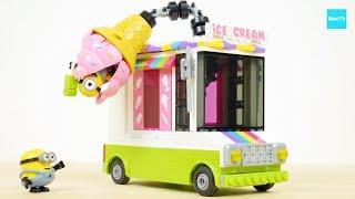 メガコンストラックス ミニオンズ どきどきアイスクリームトラック 怪盗グルー ミニオン危機一髪/ Minions, Mega Bloks Despicable Me Ice Scream Truck
