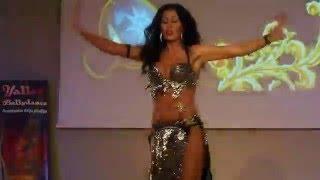 Natalja Lubinskaja (LV) performing