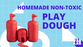 Homemade Non-Toxic Eco-Friendly Play Dough - THE FAB LAB with CRAZY AUNT LINDSEY